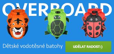 Dětské vodotěsné batohy Overboard