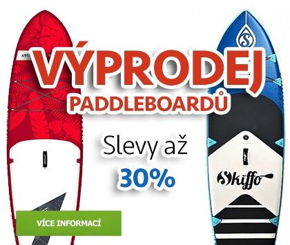 Totální výprodej paddleboardů